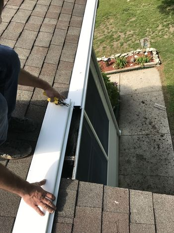Gutter Guards in Harrington Delaware by Tom McDonald Contracting