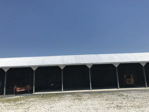 Before & After Aluminum Roof Coating in Selbyville, DE (2)