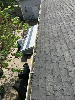 Before and After Gutter Guard Installation in Millsboro, DE (1)