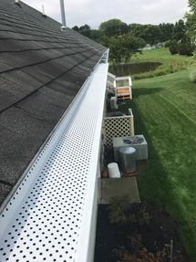 Shur Flo Gutter Guards Installation in Lewes, DE (2)