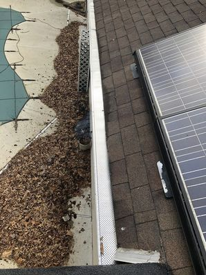 Before & After Gutter Guards in Lewes, DE (4)