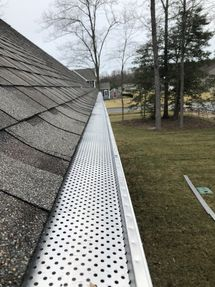 Gutter Guards Installed on House in Milton, DE (2)