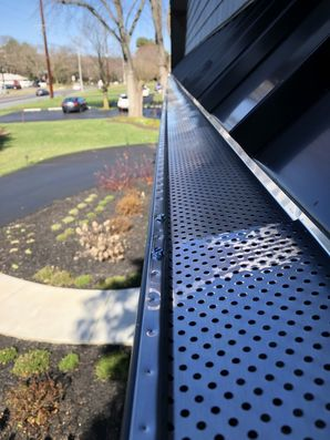 Just got done install new gutter guards for our friends at Active Adult Realty in Lewes DE! (1)