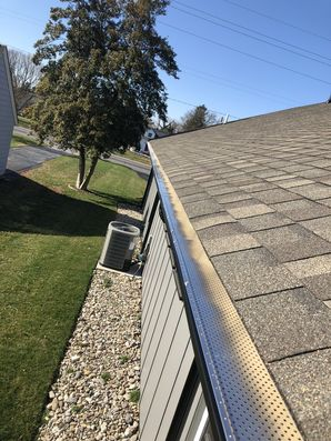 Just got done install new gutter guards for our friends at Active Adult Realty in Lewes DE! (2)