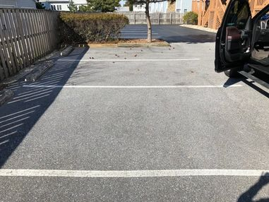 Cleaned, Seal Coated and Striped Parking Lot in Dewey Beach, DE (3)