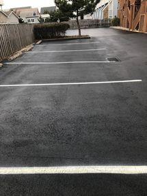 Cleaned, Seal Coated and Striped Parking Lot in Dewey Beach, DE (4)