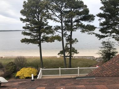 Beautiful view while installing new Gutter Guards in Dagsboro, DE (1)