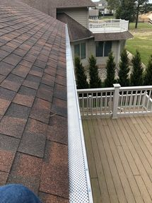Beautiful view while installing new Gutter Guards in Dagsboro, DE (2)