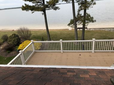 Beautiful view while installing new Gutter Guards in Dagsboro, DE (3)