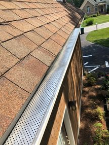 Before & After Gutter Guards Installed on a Beach Home in Rehobeth Beach, DE (3)