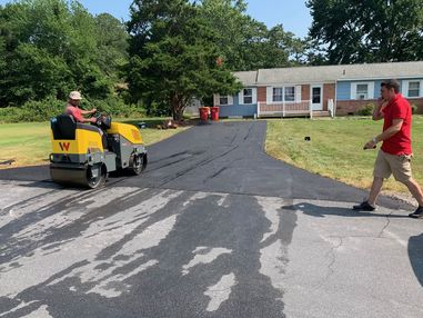 Before & After Paving in Ocean View, DE (2)