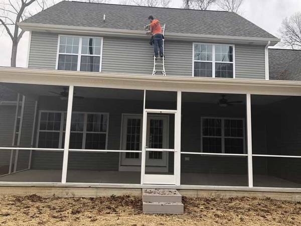 Installing Gutter Guards in Milton, DE (1)