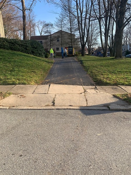 Driveway Extended in West Chester, PA (5)