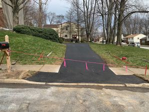 Driveway Extended in West Chester, PA (2)
