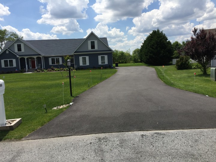 Before & After Sealcoating in Lewes, DE