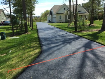 Before & After Sealing Process by Tom McDonald Contracting